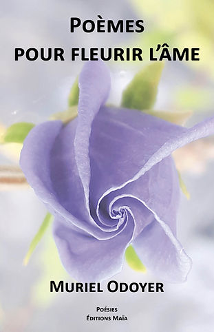 Les bleus de l'âme sont colorés En marron, noir ou en violet Les fleurs de l'âme sont peintes en bleu Un bleu du ciel très lumineux  Muriel Odoyer vous propose ce voyage intérieur, ce paysage intime, cette découverte d'un paysage où règnent la lumière, le bleu (et le blues) d'une âme. Allez à la rencontre de cette voix (celle de Muriel Odoyer) qui vous signale une certaine voie, celle qu'elle a suivie après une longue souffrance. Marcher à la découverte du lys, des mimosas, d'un rayon de soleil, d'une vague au loin, d'une nuit étoilée, d'une aube où les oiseaux vous réveillent. Il n'y a pas « un message » dans la poésie de Muriel Odoyer. Il n'y a que des certitudes. Dieu, que la Nature est belle ! Une feuille. Le tronc d'un arbre. Une lune sans nuages. Chaque poème de Muriel Odoyer est un chant d'amour à la vie. Ne vous privez pas de la lire. Oui, la Poésie existe. Il suffit d'ouvrir les yeux. Et de lire… Poèmes pour fleurir l'âme.