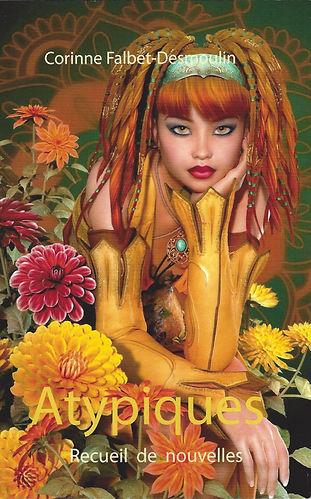 """""""Atypiques"""" est le troisième recueil de nouvelles de Corinne Falbet-Desmoulin. """"Singulières"""", """"Insolites"""" et """"Atypiques"""" forment une trilogie.  Quinze histoires courtes atypiques, autour du thème de la famille.  Pourquoi Alizée, adolescente rebelle, espère-t-elle qu'un grand vent à l'image de son prénom, l'emporte loin de chez elle? Comment une mystérieuse musique bleue rythme-t-elle la vie de Violette? Quel bonheur imprévu se dessine pour Lou, lors de ses retrouvailles avec son frère? Que pense Thomas, 7 ans et demi, de sa famille recomposée?  Tendresse, sensualité, amour de la nature affleurent dans ce recueil, ainsi qu'une pointe d'humour et de fantastique. Un style fluide, pour explorer de multiples formes familiales, qui se côtoient aujourd'hui dans la société.  Et fidèle à ses précédents ouvrages, l'auteure nous offre ici des nouvelles aux chutes... surprenantes"""