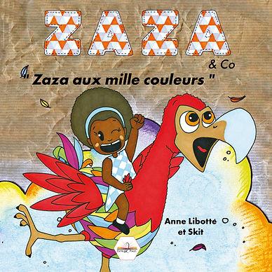 « Zaza comme beaucoup de petites filles, passe ses journées à rêver. Un jour au détour de l'une de ses escapades imaginaires, un événement inattendu et magique va se produire. Et si l'imagination de Zaza devenait réalité? » Sous le titre principal de « Zaza & Co », cette série de livres est adaptées aux petits et évoluent avec eux.
