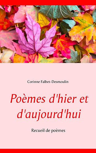Corinne Falbet-Desmoulin écrit de la poésie depuis l'enfance. Dans ce recueil, elle présente trente-cinq textes illustrés, créés depuis l'âge de dix-sept ans. Des poèmes d'hier et d'aujourd'hui, en attendant ceux de demain... Une écriture libre, souvent versifiée, mais affranchie des règles de la poésie classique. Des messages criants de vérité, où beauté et couleurs des mots nous entraînent avec bonheur dans son univers. Amour, Nature, handicap, injustice, sensualité, humour, amitié, autant de thèmes qui lui sont chers et auxquels elle a déjà habitué ses lecteurs.