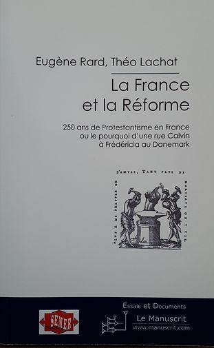 Dans La France et la Réforme, il se penche sur les 250 ans d'Histoire, entre le XVIe et le XVIIIe siècle, qui ont marqué le destin de la communauté protestante française.