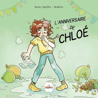 « Aujourd'hui, c'est l'anniversaire de Chloé. Malheureusement, cette journée, très spéciale, a mal commencé, mais va-t-elle bien se terminer ? »  Pour le savoir, lance le dé et crée ton histoire