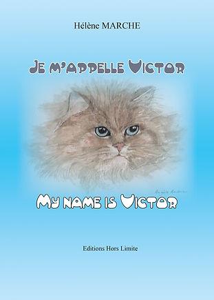 Oui, vous avez bien lu, je m'appelle Victor ! Comme un humain et pourtant je suis un « Quatre Pattes » plus exactement un chat et quel matou ! En toute modestie, on me trouve très beau avec des yeux bleus magnifiques.  Adopté et nourri par la chienne de la maison, je fais la fierté de mes maîtres. Comme tous les jeunes chats, j'ai cumulé les bêtises les plus invraisemblables ! Une aventure amoureuse a failli me coûter la vie mais l'amour de ma maîtresse m'a sauvé.  Je suis Victor le chat, le bienheureux, né sous une bonne étoile !