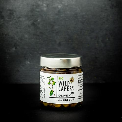 kappertjes in olijfolie