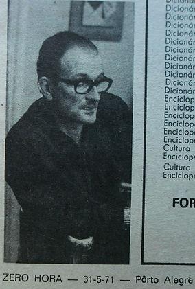 Em 1971, já como presidente da AGAPAN