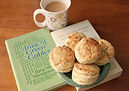 Anne of Green Gables with plate of biscuits, cup of tea for the food and book project. © Kriti Bajaj