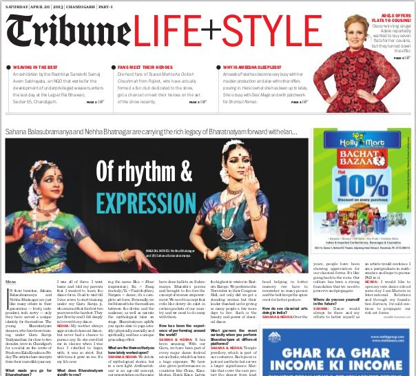 Tribune Life+Style Chandigarh, 2013