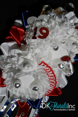 Double Homecoming Mum
