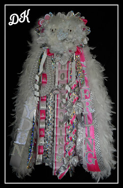 Triple Senior Homecoming Mum