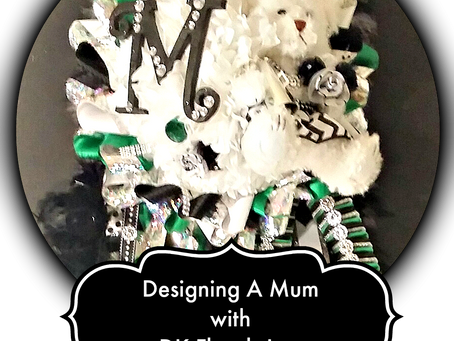 Designing a Homecoming Mum By DK Florals Inc.
