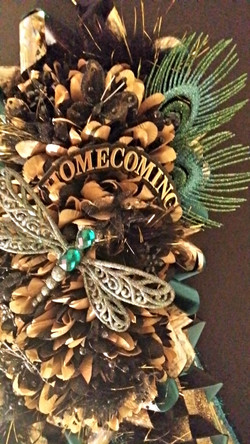 Custom Couture Homecoming Mum