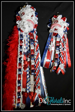 Double Homecoming Mum Set