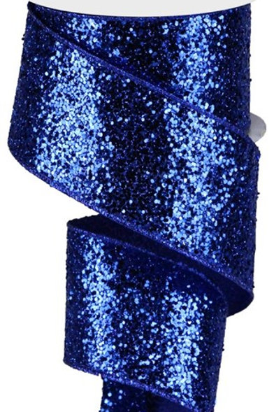 #40 Royal Chunky Glitter Ribbon