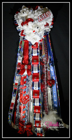 Triple Cheer Homecoming Mum - Aubrey