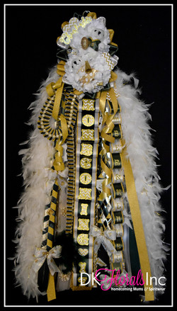 Double Works Cheer Homecoming Mum