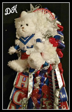 Drill Team Double Homecoming Mum