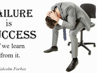 You must fail to succeed!!