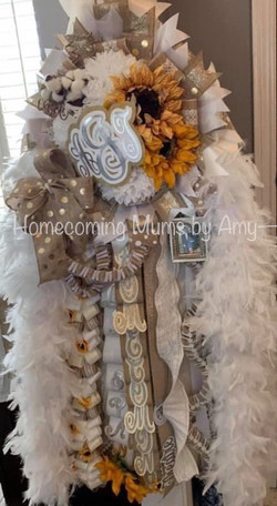 Homecoming Mums by Amy