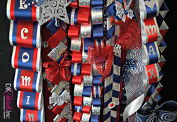 Triple Homecoming Mum Details