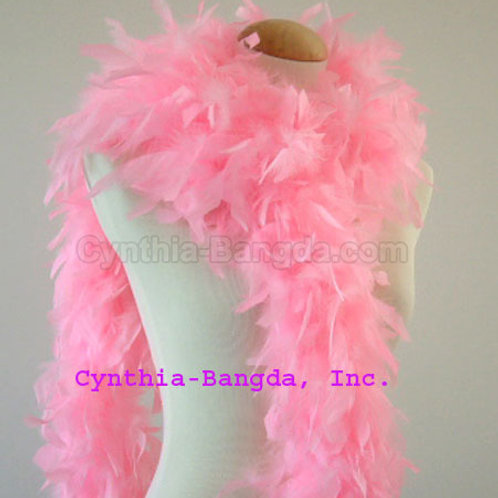 Candy Pink Boa 100g (think cotton candy)