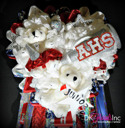 Triple Aubrey Homecoming Mum