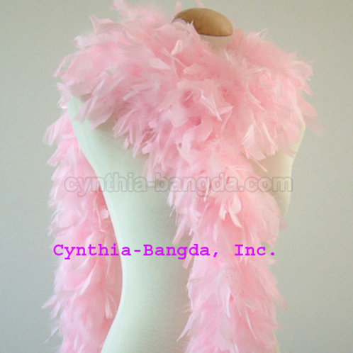 Baby Pink Boa 65g (light like baby pink acetate)