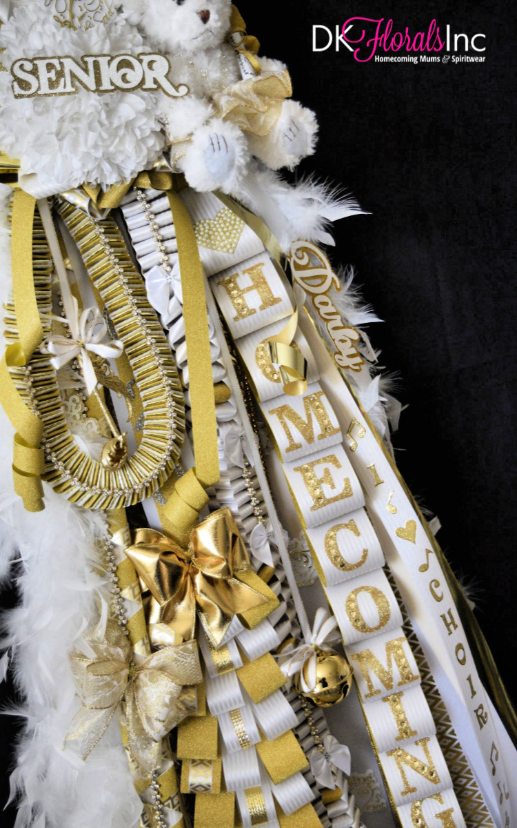 Double Tilted Homecoming Mum