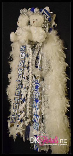 Senior Triple Homecoming Mum