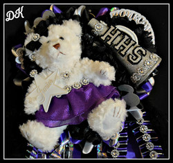 Triple Works Homecoming Mum