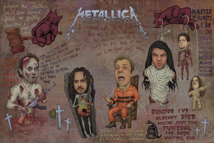 METALLICA - WITH HELL IN MY EYES AND WITH DEATH IN MY VEINS