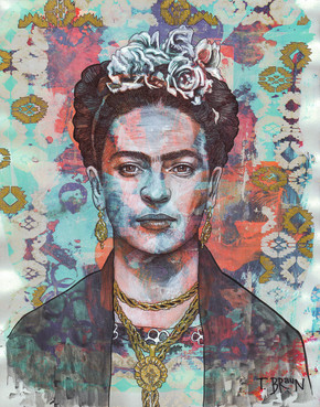 FRIDA KAHLO - FLOWER OF LIFE