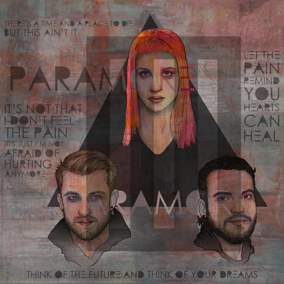 PARAMORE - THINK OF THE FUTURE AND THINK OF YOUR DREAMS