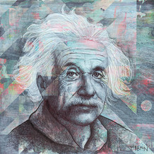 EINSTEIN - THE TRUE SIGN OF INTELLIGENCE IS NOT KNOWLEDGE BUT IMAGINATION