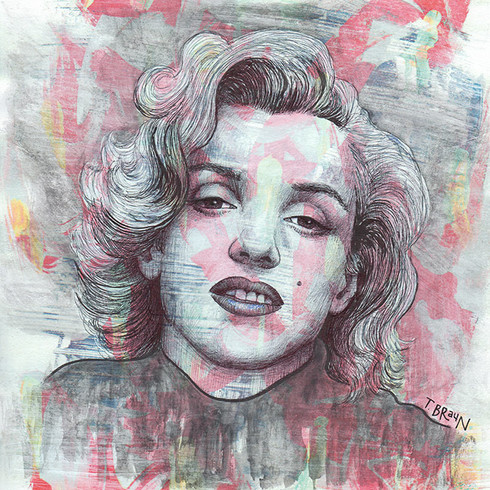 MARILYN MONROE - GIVE A GIRL THE RIGHT PAIR OF SHOES AND SHE'LL CONQUER THE WORLD
