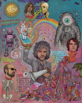 THE FLAMING LIPS - ALWAYS THERE IN OUR HEARTS THERE IS FEAR OF SLIPPERY BRAINS, ELECTRIC TOASTERS, EVIL NATURED ROBOTS FROM OUTER SPACE AND DRUGS