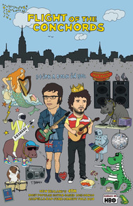 FLIGHT OF THE CONCHORDS - STICK A FOLK IN YOU