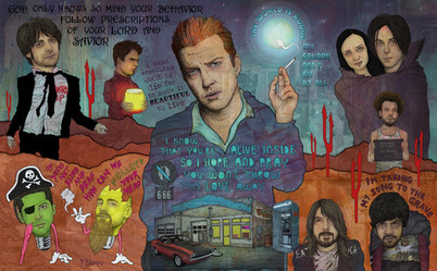 QUEENS OF THE STONE AGE - I KNOW THAT YOU'RE ALIVE INSIDE