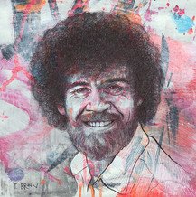 BOB ROSS - JUST HAPPY LITTLE ACCIDENTS