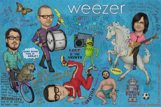 WEEZER - GOSH DANG THIS IS GREAT!