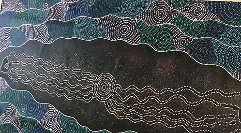 """Milky Way "" by Stan Yarramunua"