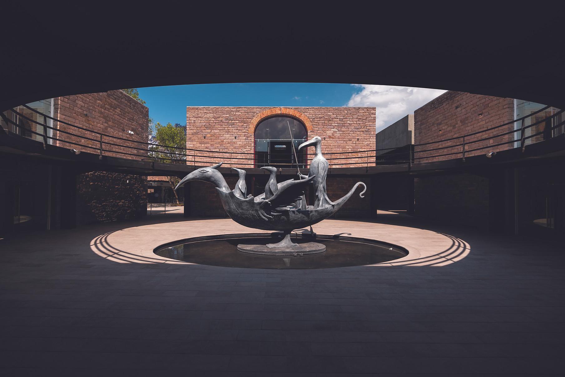 """Museo Leonora Carrington """"La barca de las grullas"""""""
