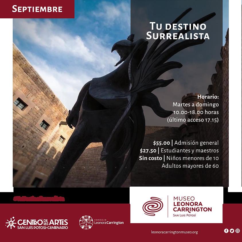 Visita Museo Leonora Carrington SLP  y CEART SLP  (1)