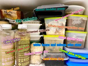 I stock my freezer with anti-inflammatory foods