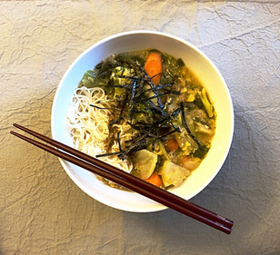 Vegan Miso Ramen/Somen Soup