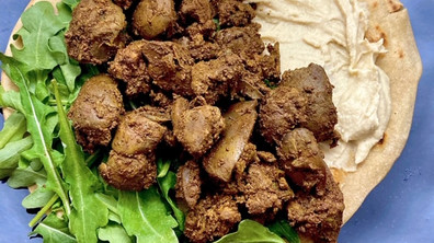 Curry Chicken Livers