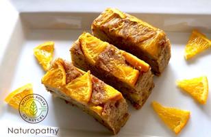 Sweet potato and Amazake Almond Orange Cake