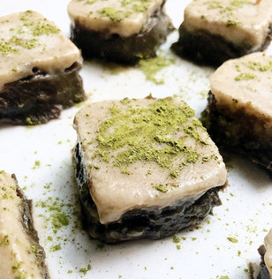 Matcha x Black sesame Bars