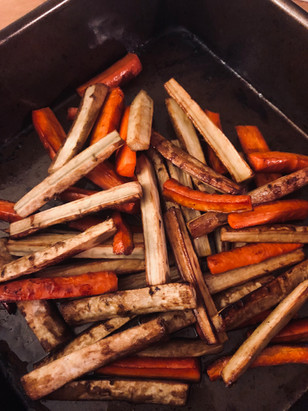 Roasted Burdock root & Carrot