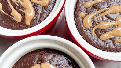 Fluffy Chocolate Soufflé ~no oil~