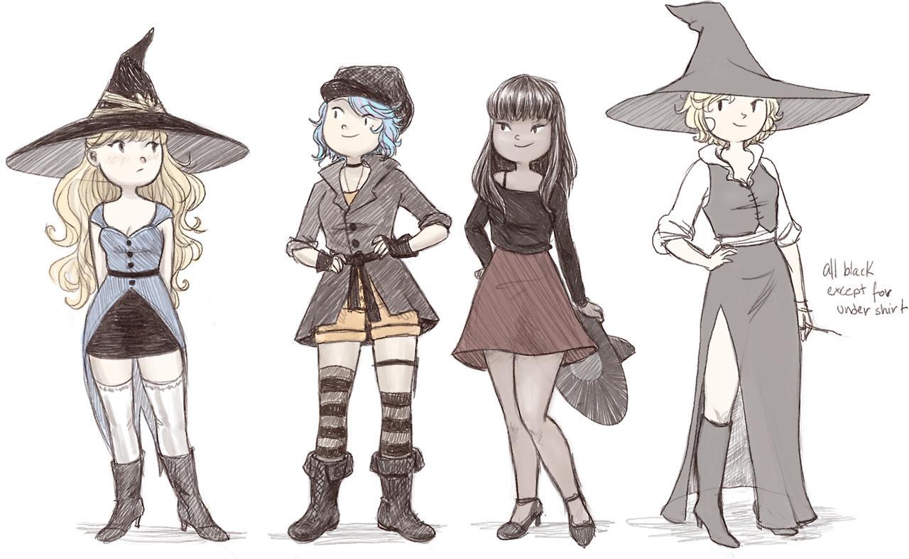 Lily, Tessa and Kao